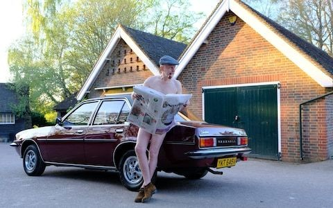 Great British Drives: baring all at a nudist beach with a Vauxhall Cavalier