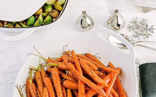 Easy Christmas vegetable recipes - with a twist