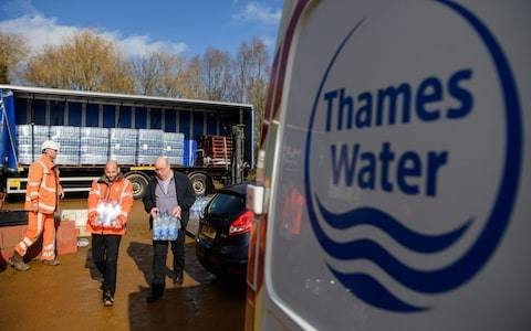 Thames Water boss ousted after record leaks
