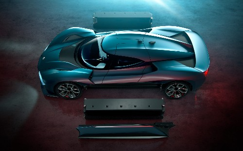 The NIO EP9 – it's Chinese, it's electric, and it smashed the Nürburgring lap record
