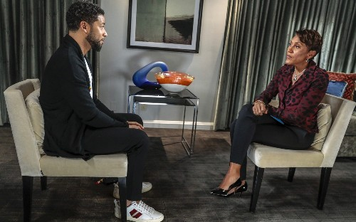 Actor Jussie Smollett charged with filing false police report over alleged hate crime attack