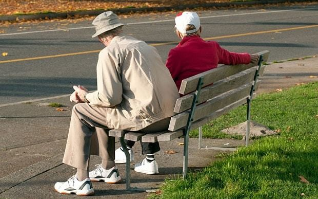 Pensioners must 'reclaim the right to sit down'