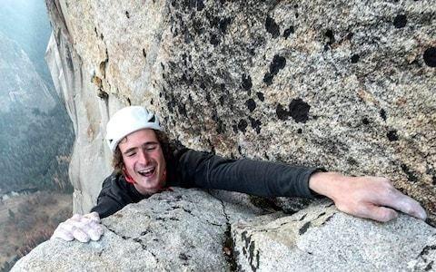 Czech free-climber Adam Ondra scales Yosemite rock wall El Capitan in world record time