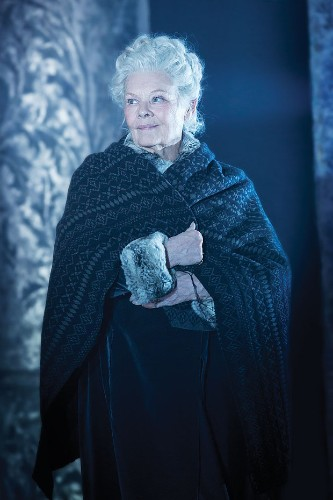 Dame Judi Dench: 'I can see red lights all over the theatre'