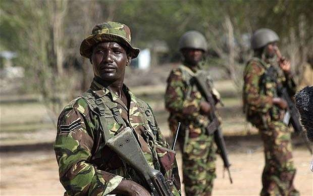 Kenyan police park massive car bomb outside their offices after missing explosives in vehicle