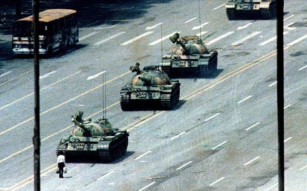 Bill Gates sells his picture of the Tiananmen Square 'Tank Man' to Chinese company