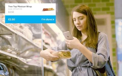 End of the supermarket queue as Barclaycard plans checkout-free shopping using mobile phones