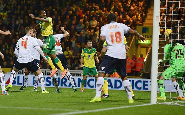 Norwich City 2 Bolton Wanderers 1, Championship: Cameron Jerome double gives Canaries welcome lift
