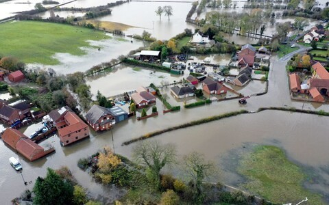 Severe flooding could cut off more villages this week, Met Office warns