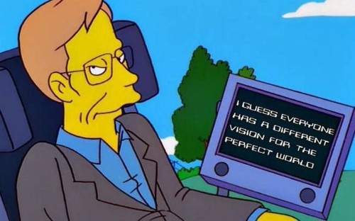 Stephen Hawking would 'just turn up' to Simpsons script readings