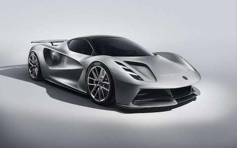 British manufacturer Lotus unveils Evija all-electric supercar