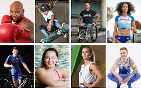 Introducing the Telegraph Tokyo Eight - the future stars targeting gold in 2020