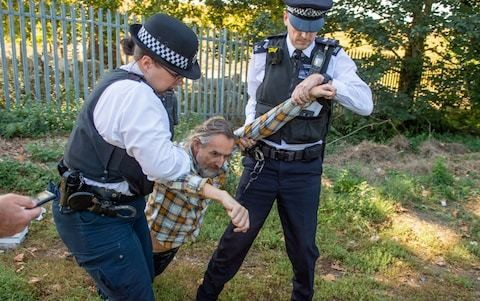 Extingtion Rebellion co-founder rearrested after attempting to fly drone at Heathrow