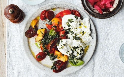 Summer salad ideas with colour, texture and delicious dressings
