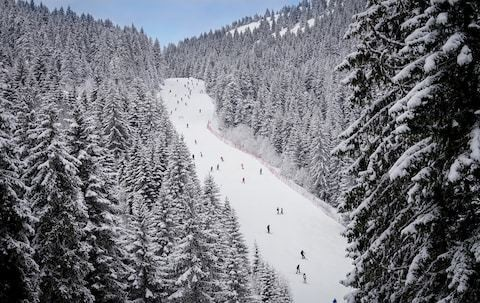 Europe's largest artificial ski slope opens in Serbia
