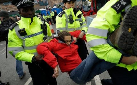 Why I don't regret being arrested protesting with Extinction Rebellion