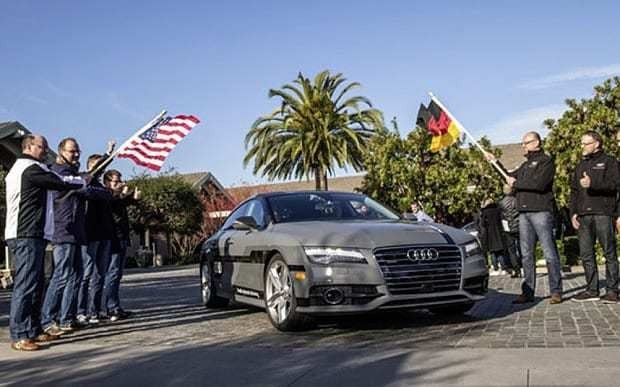Driverless Audi takes itself on a 550 mile road trip