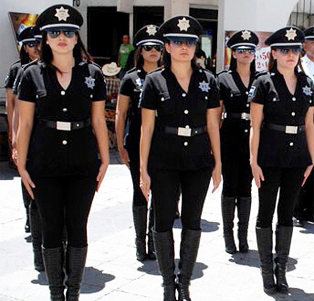 Mexico's 'sexiest police force' instructed to dress down
