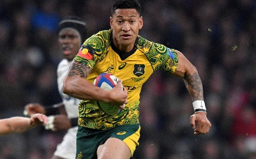 Israel Folau joins rugby league side Catalans Dragons in cross-code switch