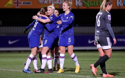 Beth England gives Chelsea Women title push with victory over Birmingham City