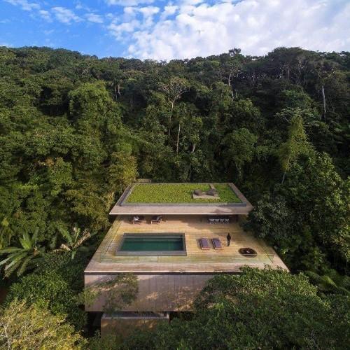 Inside Jungle House, the modern wonder hidden in Brazil's rainforest
