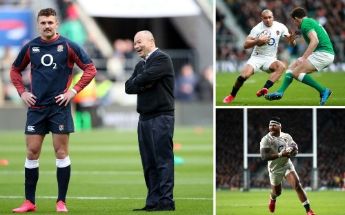 Inside Line: Why does Eddie Jones pick so many outside centres for England?