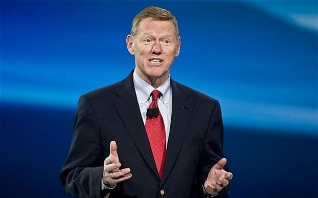 Google hires former Ford chief Alan Mulally as it develops self-driving car