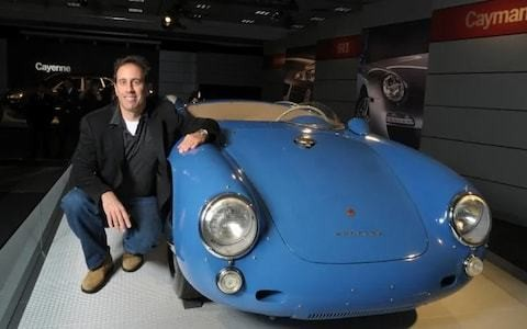 The garage that impressed Jesus: Jerry Seinfeld's multi-million-dollar car collection