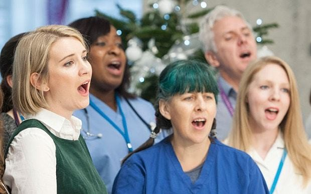 NHS Choir beat Justin Bieber to Christmas number one spot