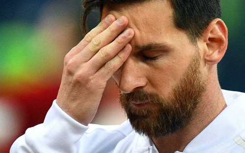 What was wrong with Lionel Messi? Pained pre-match pose encapsulates Argentina's night