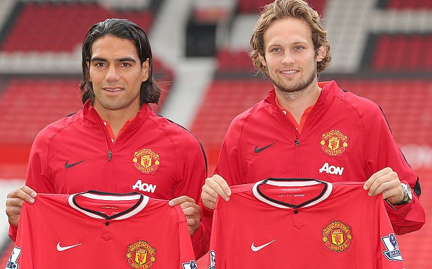 Radamel Falcao: I hope to stay many years at Manchester United and make history with this club