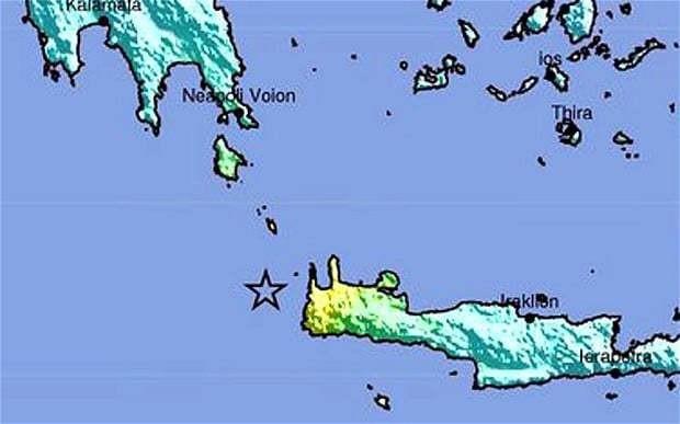 Crete rocked by 6.3 magnitude earthquake