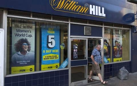 Has William Hilll been left at the races?