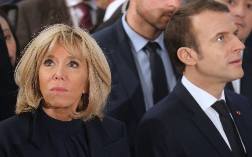 Macron aides 'jealous' of Brigitte's influence on the President, new book claims