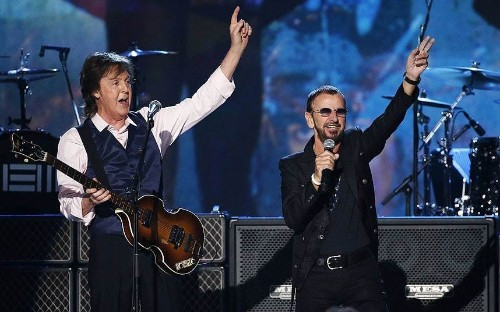 Sir Paul McCartney and Ringo Starr perform together at Grammy tribute concert - Telegraph