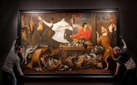 Cambridge University students cry fowl over 17th century painting that upsets vegetarians