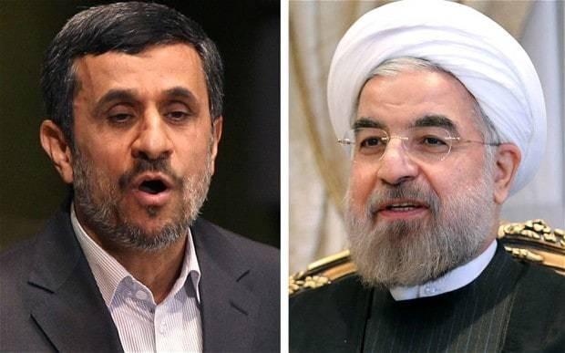 Mahmoud Ahmadinejad challenges Hassan Rouhani to debate