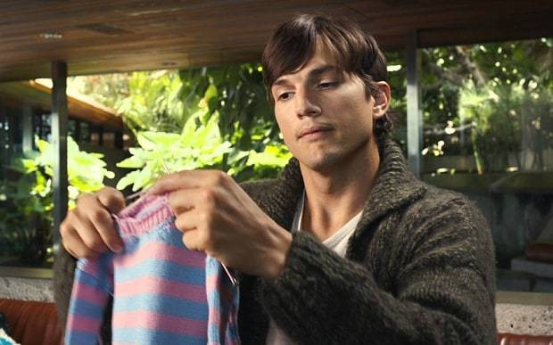 Ashton Kutcher: Men need more baby-changing facilities