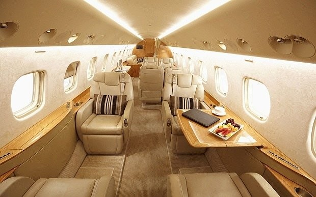 Now you can charter a private jet to Europe for less than £500