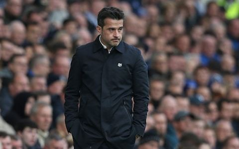 Everton manager Marco Silva remains calm on questions over his Goodison future