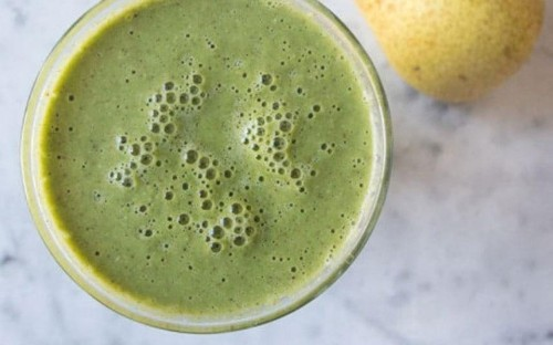 Deliciously Ella's pear and vanilla smoothie