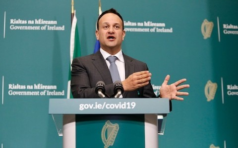 Irish taoiseach Leo Varadkar to work as doctor to help fight coronavirus