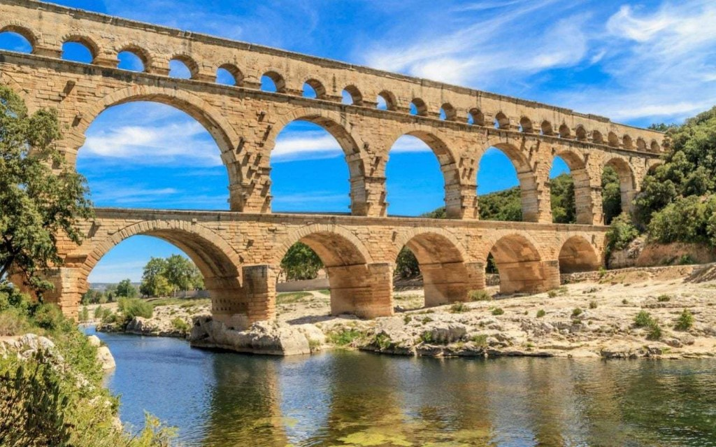 Amazon sorting centre near France's Pont du Gard is an 'affront' to Romans' greatest aqueduct
