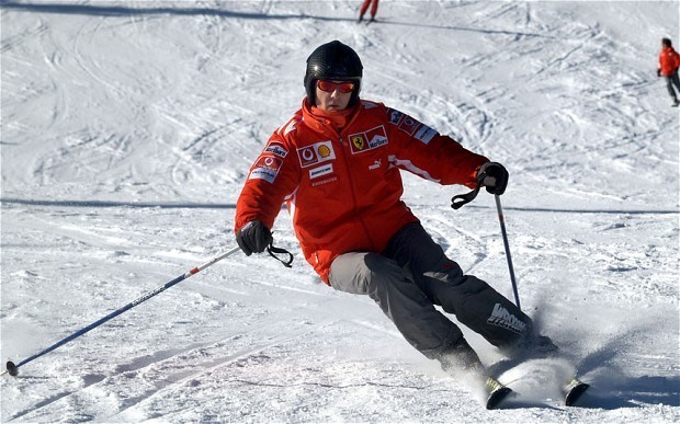 Michael Schumacher has operation on skull to discover any brain damage