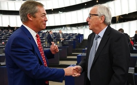 Nigel Farage's Brexit Party wreaked havoc in Strasbourg – and left the EU fuming