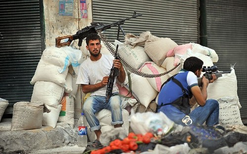 Syria anniversary in pictures: Aleppo's descent into anarchy and rubble - Telegraph