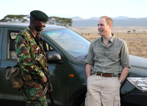 EXCLUSIVE The Duke of Cambridge visits the frontline of Kenya's battle against wildlife poaching