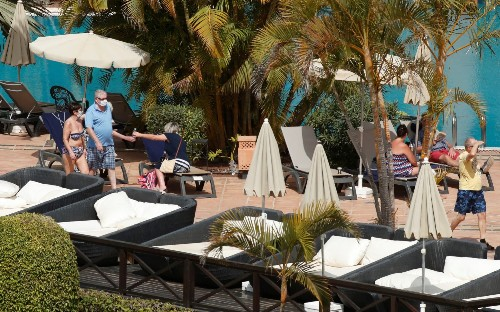 British tourists face evacuation from Tenerife coronavirus hotel