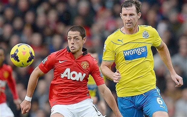 Inter Milan target Manchester United striker Javier Hernandez as part of exchange deal for Fredy Guarin