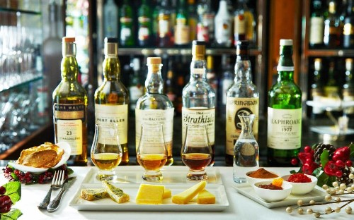 Whisky and cheese: the unlikely combo only served at one place in London